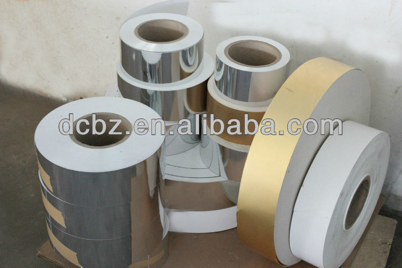 Alfoil Paperboard For Cigarette Packing materials