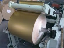 Laminated aluminum foil paper for cigarette aluminum foil paper in big roll