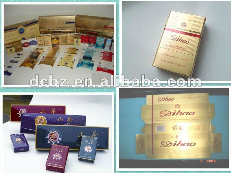 cigarette paper packaging