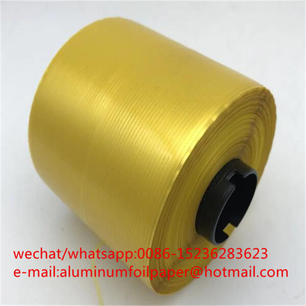 cheap price 2mm gold adhesive tear strip