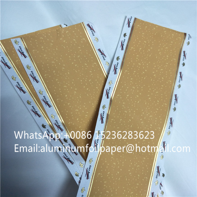 Customized logo cigarette paper cigarette packing tipping paper